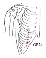 Gallbladder Meridian Points - www.natural-health-zone.com