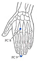 Pericardium Meridian Points - www.natural-health-zone.com